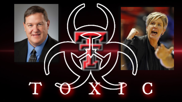 Ronny Wall and Marlene Stollings toxic at Texas Tech